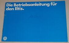 Betriebsanleitung VW Iltis Stand 08/1980