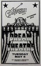 Dream Theater 1998 Daytona's Nightclub Name Misprint Globe Printing Promo Poster