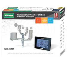 Holman iWeather Digital Weather Station - Large, easy to read LCD display