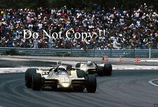 JOCHEN MASS & Riccardo Patrese ha FRECCE a2 FRENCH GRAND PRIX 1979 Fotografia