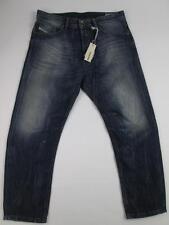 DIESEL 814A NARROT REG CARROT BLUE DENIM PANTS STONEWASH JEANS W31/L32 NWT $248