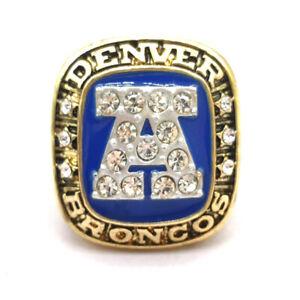 1986 Denver Broncos AFC Championship ring NFL