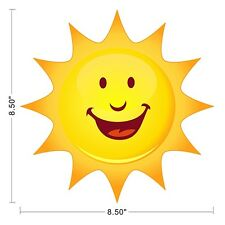 Sun Sky Smile Kids Children Wall Decal Sticker Removable Sticky Vinyl ~0450