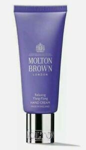 Molton Brown Ylang-ylang Replenshing Hand Cream 7ml New Travel Size Bottle