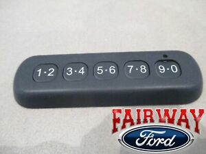19 - 20 Ranger Ford Remote Door Lock Keyless Entry Keypad - With Remote Start