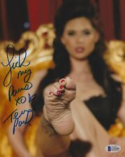 Tera Patrick Signed 8x10 Photo BAS Beckett COA Porn Star Foot Picture Autograph