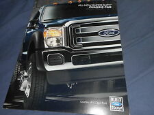 2011 Ford Super Duty Chassis Cab Color Brochure Catalog Prospekt