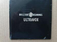 ULTRAVOX BRILLIANT BEGINNINGS DVD NEW SEALED 2012 TOUR SOUVENIR FREE UK POST