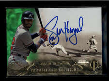 JASON HEYWARD 2014 TOPPS TRIBUTE TRADITIONS GREEN AUTOGRAPH AUTO #03/25 AB8128