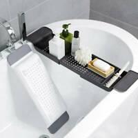 1pc Tub Bathtub Shelf Caddy Shower Holder Rack Storage Tray Over Bath Organizer