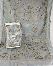 Royal Velvet Blue Jacquard King Size Pillow Shams (PAIR) Blue
