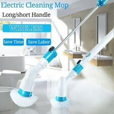 Electric Spin Scrubber Turbo Scrub Cleaning Brush Bathroom Cleaner Extension