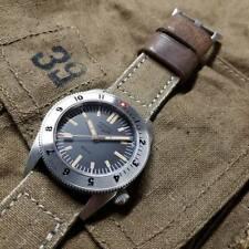 EUC Full-Kit GSD 2A Men's automatic dive watch 30 ATM WR bracelet + 5 straps USA
