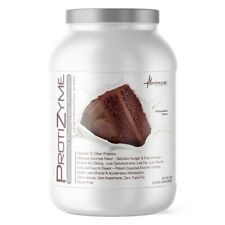 Metabolic Nutrition, Protizyme, 100% Whey Protein Powder, Chocolate Cake 2LB