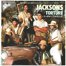 (MICHAEL JACKSON) THE JACKSONS - TORTURE - VERY RARE! JAPAN PROMO 45' Vinyl PS