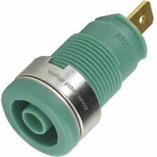 Sicherheits Buchse Hirschmann SEB2610 grün max. 25 A 5 mΩ berührungsgeschützt