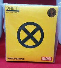 Mezco ONE:12 - Marvel Tiger Stripe Yellow Wolverine X-Men New Mezco Exclusive