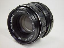 Perfect !! MC HELIOS 44M-7 2/58 M42. 6 aperture blades. Best resolution