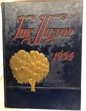 1954 Hillsboro Community High School Yearbook Hillsboro, Illinois The Hilltop