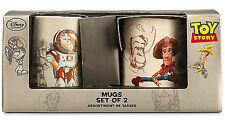 Disney Limited Edition Toy Story 20th Anniversary Coffee Mug Set WOODY & BUZZ