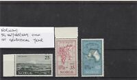 norway geophysical year mnh  stamps Ref 9256