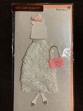 RARE PAPYRUS BIRTHDAY/BLANK TAYLOR SWIFT OUTFIT CARD