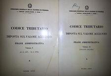 COMANDO GENERALE GUARDIA DI FINANZA CODICE TRIBUTARIO 2 VV PRASSI AMMINISTRATIVA