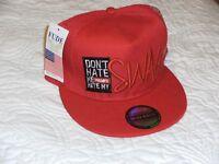 New Flat Bill Snapback Hat