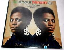 All About Miriam Makeba Mercury MG 21095 Blues Folk Promo 33rpm Vinyl LP STG VG+