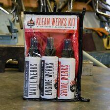 Klock Werks Klean Werks Complete Spray Motorcycle Cleaning Kit Harley Davidson