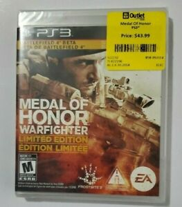 Medal of Honor: Warfighter -- Limited Edition PS3 Battlefield 4