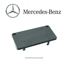 Mercedes W208 GENUINE License Plate Mounting Bracket Base Front Primered NEW