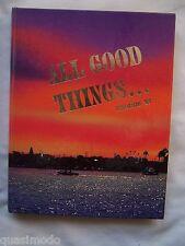 1997 CORONA DEL MAR HIGH SCHOOL YEARBOOK, NEWPORT BEACH, CALIFORNIA  UNMARKED!