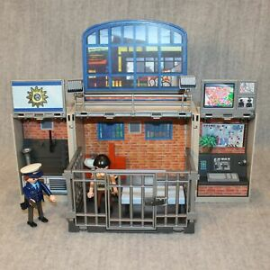 PLAYMOBIL My Secret Play Box Police Station 5421 Compact Foldable Play Set Toy