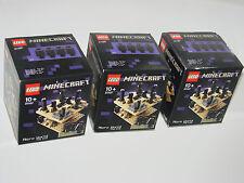 LEGO ® Minecraft ™ 21107 Micro World-La Fin Neuf 3 Pièce _ The end New En parfait état, dans sa boîte scellée 3 Piece