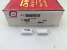 (10 pcs) TWM3J3K3 Ohmite, 3 Watt 3.3K Ohm 5%, Ceramic Housed Power Resistor