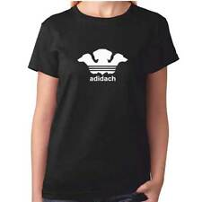 Ladies Dachshund Tshirt - Funny ADIDACH - Sausage Dog Clothing Gift