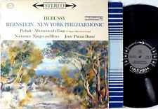 COLUMBIA 6-EYE STEREO Debussy BERNSTEIN Afternoon of a Faun/Nocturnes MS-6271