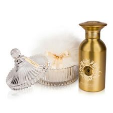 Shelley Kyle De Ma Mere Shimmer Powder Talc Free Set with Crystal Puff Dish