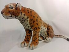 "Great American CHEETAH Plush LARGE 54"" Long Spotted CAT Stuffed Animal Toy"