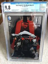 Dark Knight III the Master Race #1 cgc 9.8 Dave Johnson variant Local Comic Shop