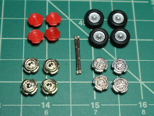 M2 Machines Greenlight 1/64 Wheels Rubber Tires Custom Builds Parts Project Rims
