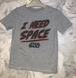 Boys Age 5-6 Years - George Star Wars T Shirt