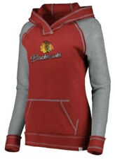 Majestic Women's Chicago Blackhawks NHL Hockey Hyper Hoodie Sweatshirt Medium M