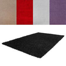 Acrylic Solid Contemporary Rugs