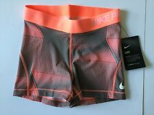 Ladies NIKE PRO DRY Compression Shorts Size Small