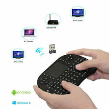 Mini Wireless Keyboard 2.4G w/ Touchpad Handheld Keyboard for PC Android TV XG