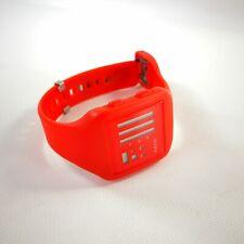 Nooka Zub ZenH BO 38 Bright Orange Digital TFD LCD Watch Alarm Chronograph