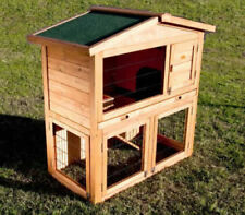 Wooden Guinea Pig Outdoor Small Animal Supplies