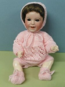 Poupée ancienne: craquant petit bébé SFBJ 236 taille 4  30 cm.